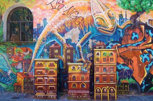 Là dove OSA la street art