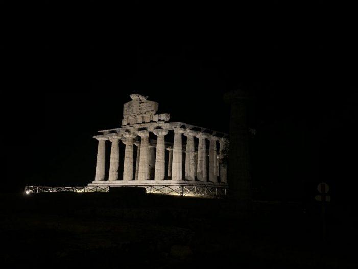 Paestum: archeologia e mare al tempo del Covid