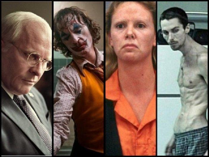 Le 10 trasformazioni più estreme del cinema