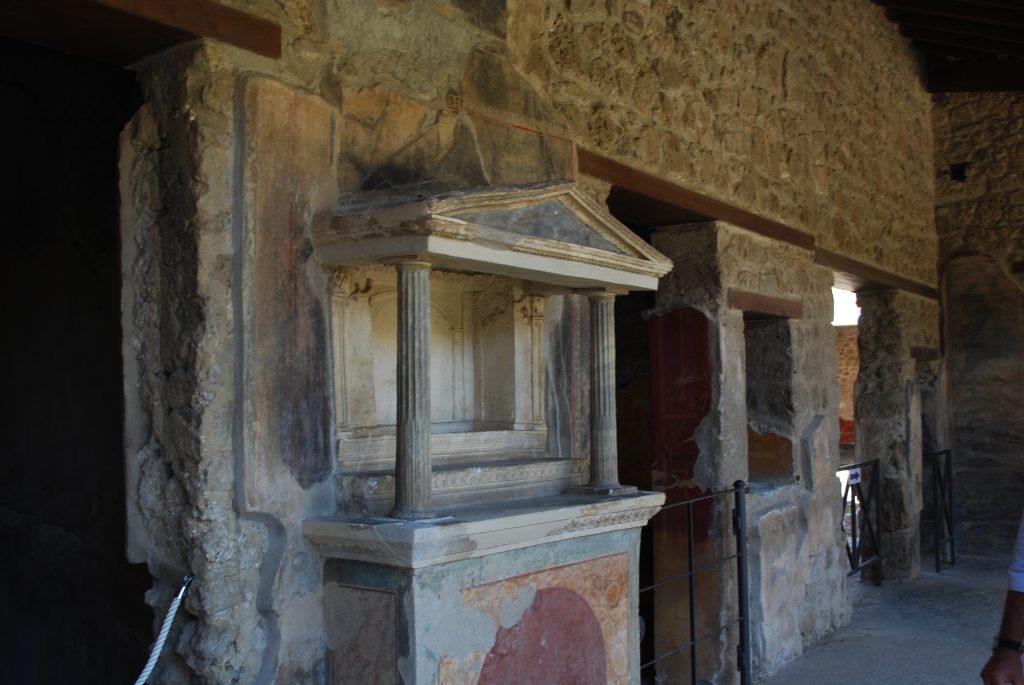 Affreschi visitare Pompei Vuota per Covid foto MyWhere