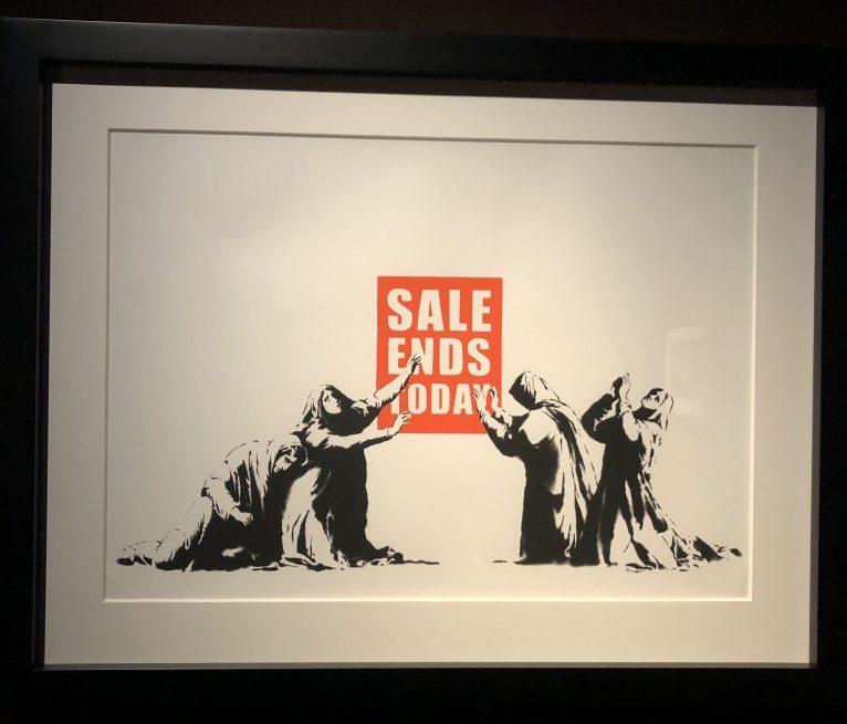 Sansepolcro Banksy Sale Ends