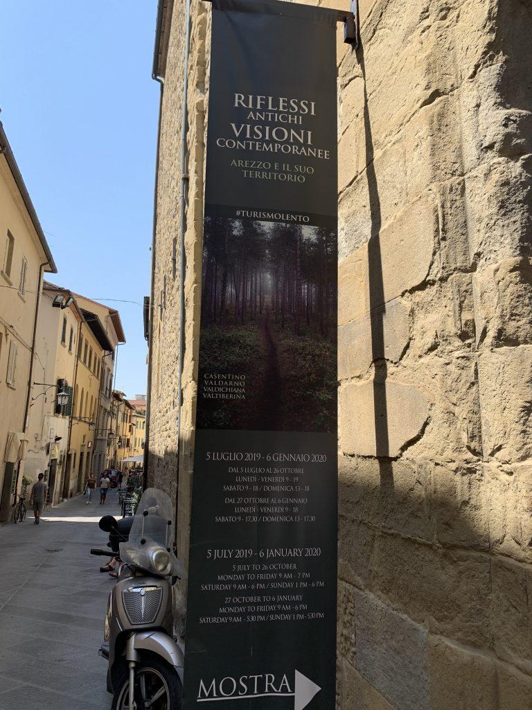 Arezzo slow tourism