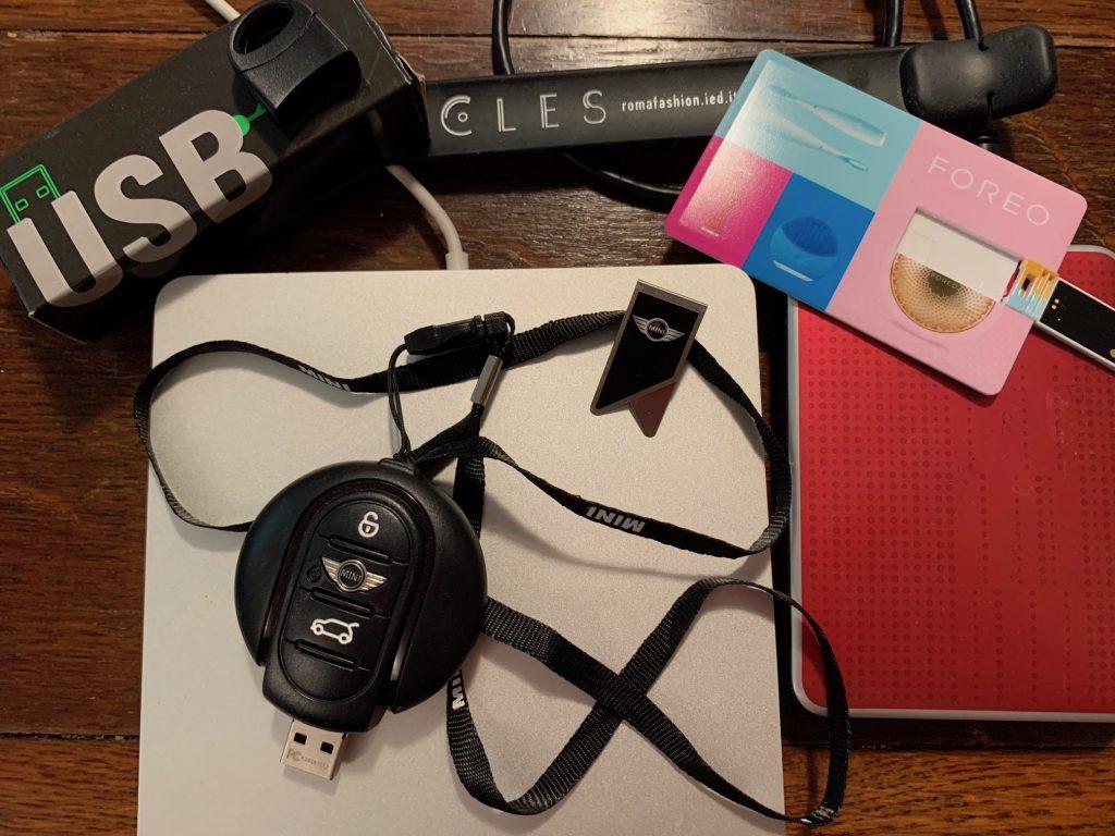 USB per promuovere il brand aziendale