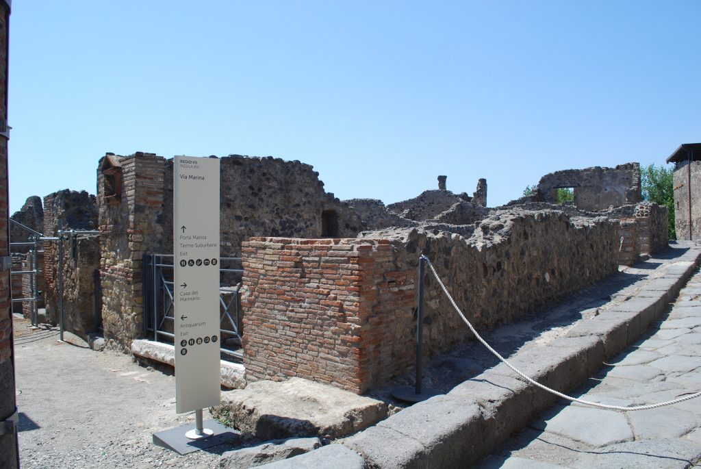Pompei Vuota per Covid foto MyWhere copyright