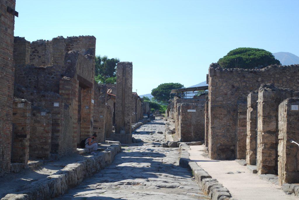 Pompei deserta per Covid . Foto MyWhere copyright