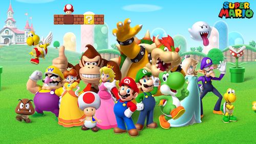 Curiosità su Super Mario: v