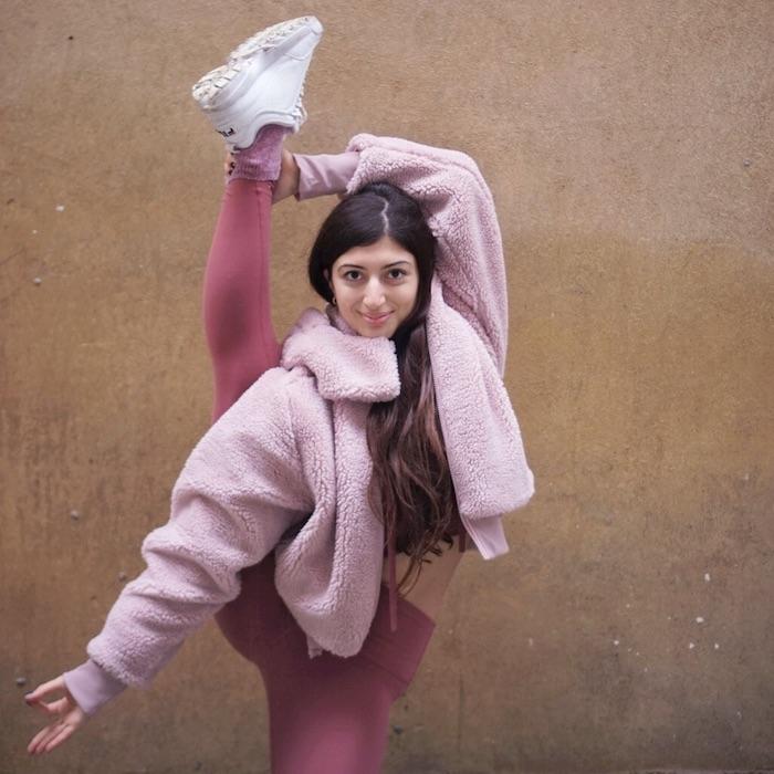 Intervista Yoga con Martina Rando: foto dalla pagina Facebook della YogaStar