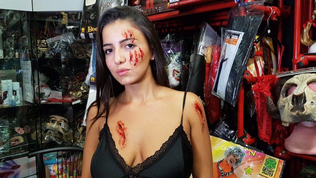 Trucco Halloween Profondo Rosso