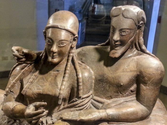 Cultura della vita, culto dell'Aldilà  e ruolo della donna negli Etruschi – 1° parte