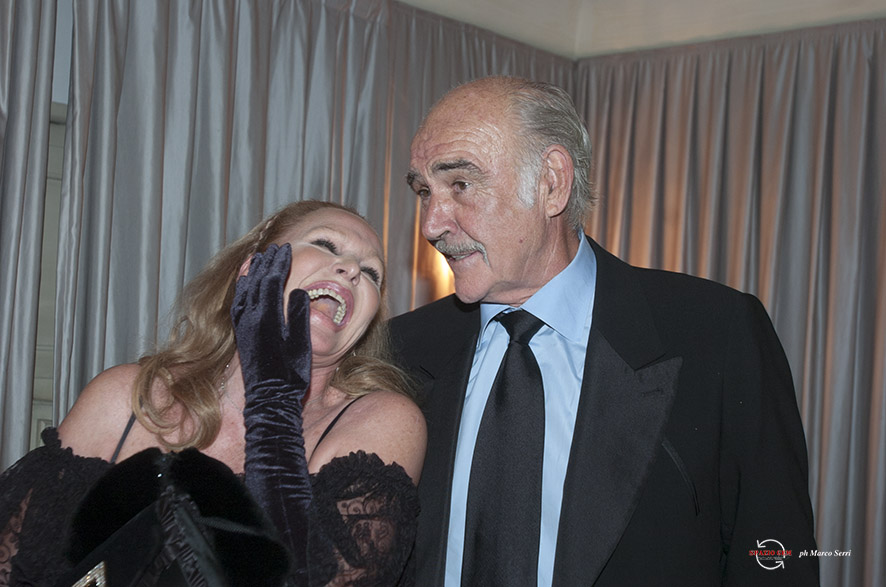 photo Marco Serri© Ursula Andress e Sean Connery