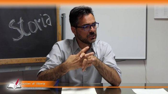 """A lezione dal Prof. Adriano Di Gregorio: """"Io, la storia, le lezioni a distanza e il Commissario Battaglia"""""""