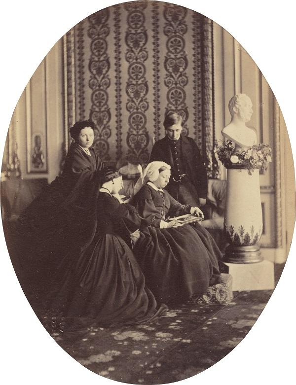 Regina Vittoria in lutto, William Bambridge,1862