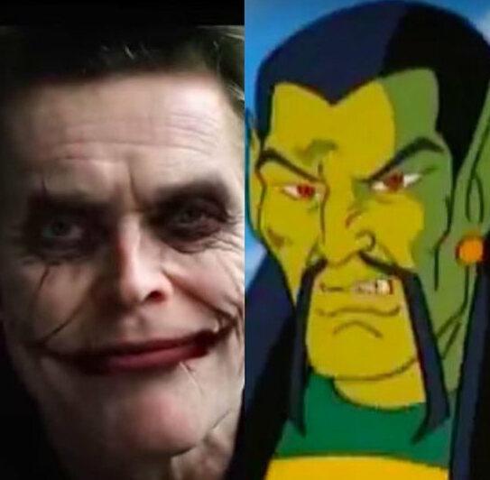 intervista cinecomic cattivi mandarino joker willem dafoe DC Comics