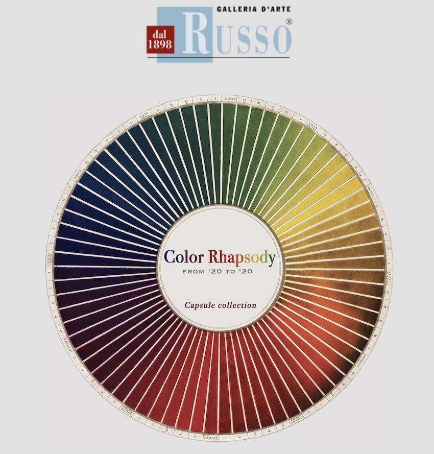 Regalare il colore Galleria Russo Colour Rapsody