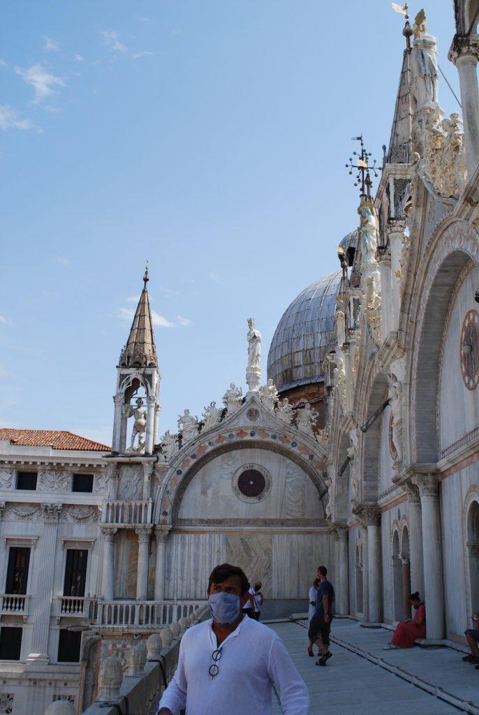 la Basilica di San Marco deserta Venezia