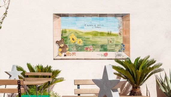 Oikos per il sociale: pittura ecologica e Made in Italy per il restyling della Casa di Peter Pan