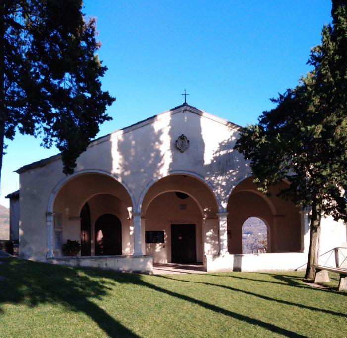 Piccole Dolomiti Venete. Il Santuario Di Santa Maria di Panisacco