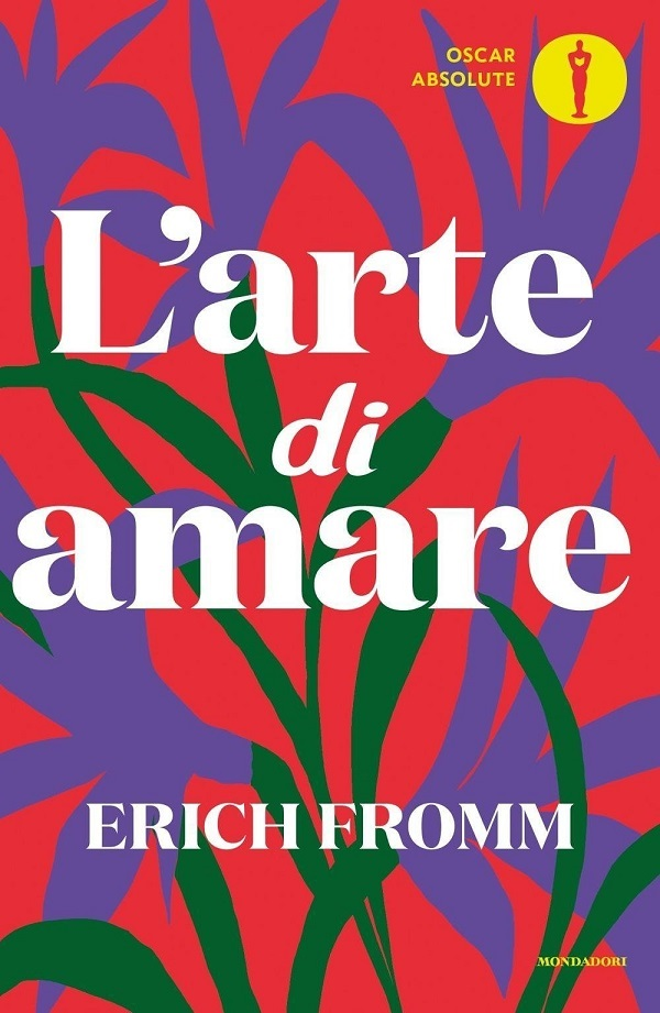 La copertina de L'Arte di Amare di Erich Fromm