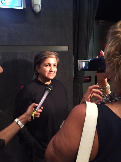La Presidente di Altaroma Silvia Venturini Fendi