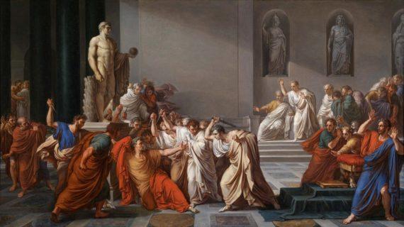 Oggi sono le Idi di Marzo. E se vi chiamate Cesare, fareste meglio a non uscire di casa!