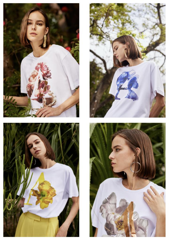 t-shirt firmate Anteprima