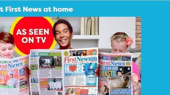 First News, il quotidiano cartaceo per bambini inglesi che in U.K. fa record di vendite