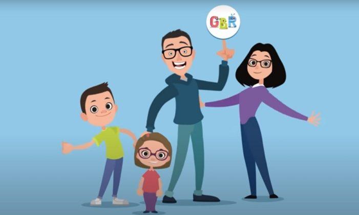 GBR: papà Davide racconta il GiocaCanale per bambini formato YouTube