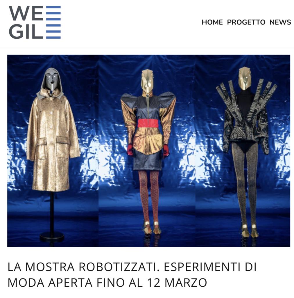 Robotizzati – Esperimenti di moda