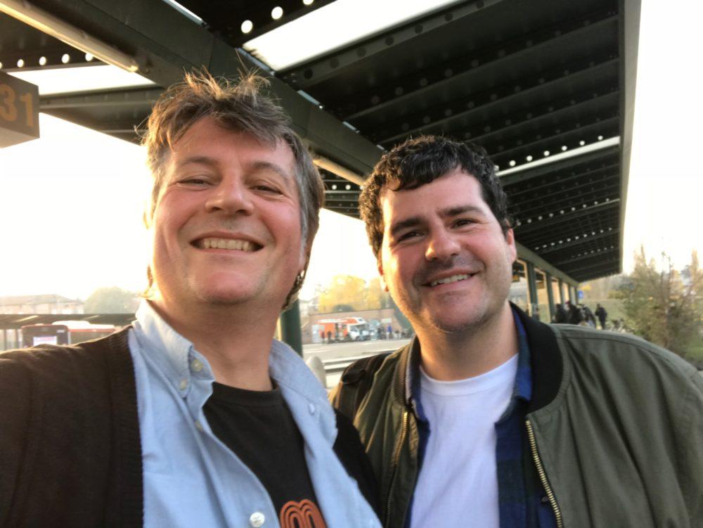 Immagine con Bengi e Carlos
