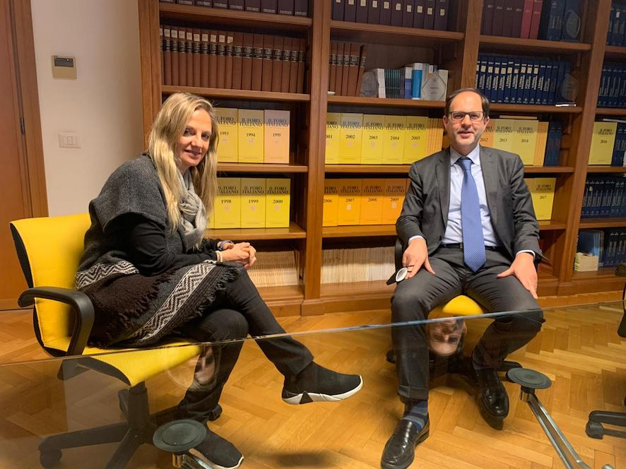 Io con L'avv. Alberto Improda