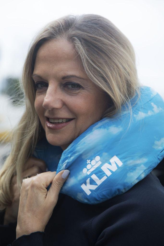 KLM cuscino da viaggio Foto Marco Serri