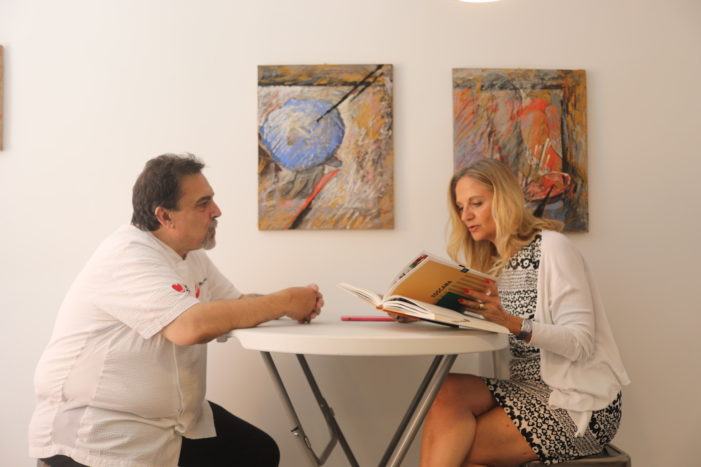Una carbonara doc gialla come l'oro, firmata dallo Chef Mauro Poddesu per il carbonaraday