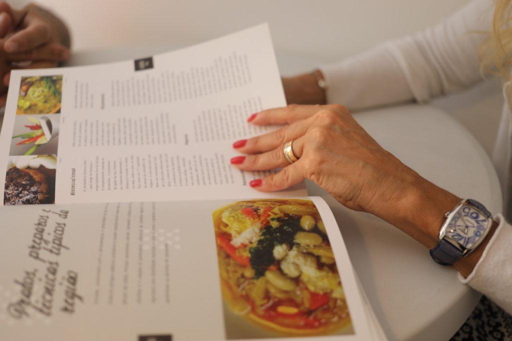 Fabiola Cinque e Chef Mauro Poddesu