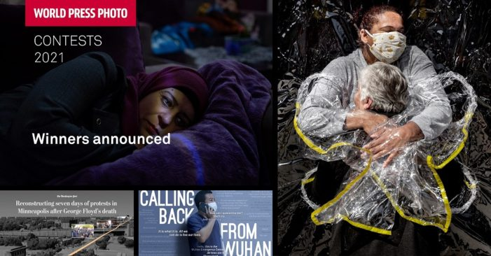 World Press Photo 2021: la pandemia in una foto
