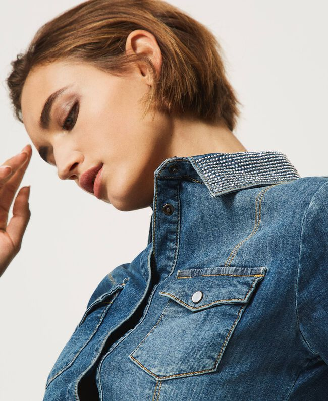 TwinSET jeans abiti corti