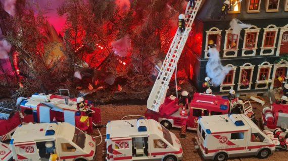 A Chianciano Terme torna il Playmobil e si omaggiano gli eroi
