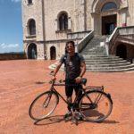 """L'Europa in bici di Francesco Accardo: """"La fatica riordina i pensieri. E un giorno visiterò Africa e Sud America su due ruote"""""""
