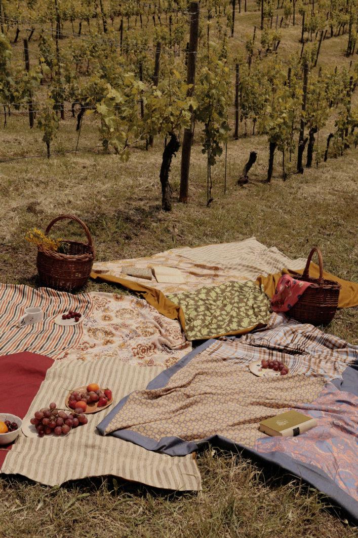 telo picnic Momonì Tenuta Tenaglia