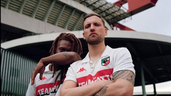 Patta e Kappa ridisegnano la maglia del Milan Campione d'Europa 88/89