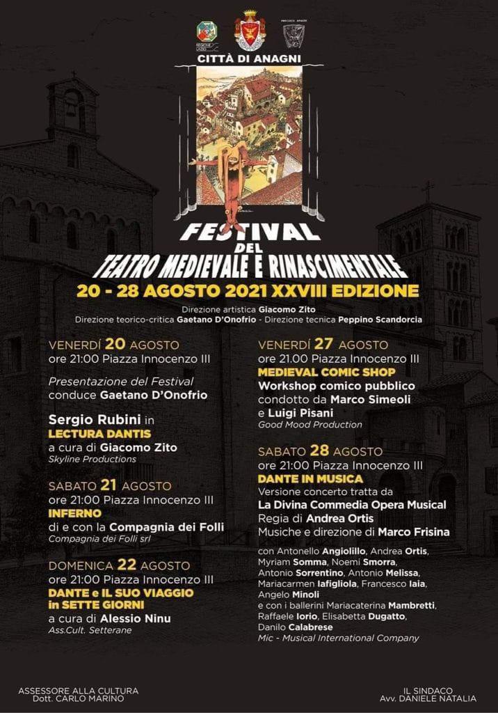 Mywhere Festival del Teatro Medievale