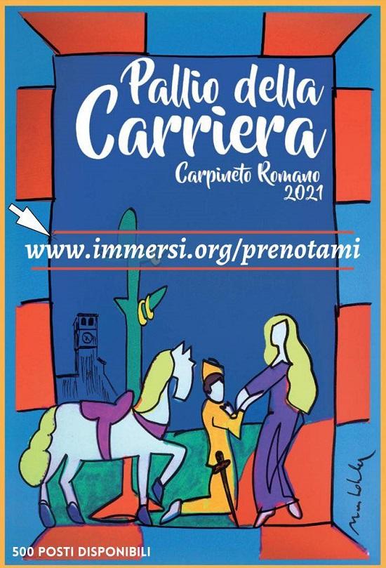 Pallio alla Carriera Carpineto Romano Estate