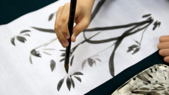 Il respiro dell'anima attraverso la pittura Sumi-e