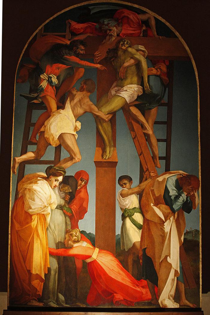 Pronti al via per il restauro della Deposizione del Rosso Fiorentino
