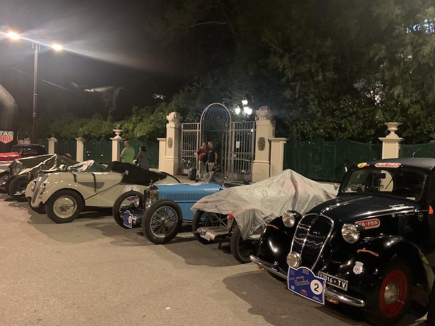 auto storiche Grand Hotel di Rimini