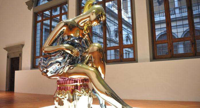 Jeff Koons torna a brillare di luce propria a Firenze. In anteprima il racconto in immagini